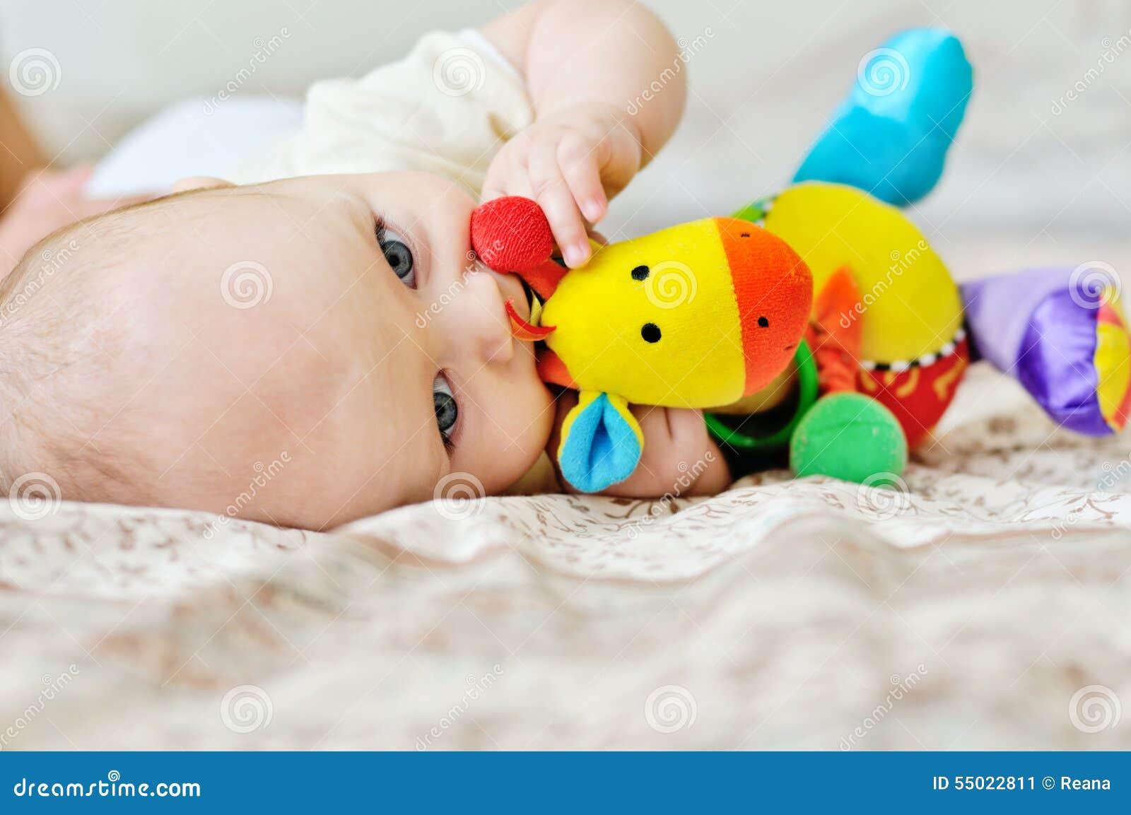 Sweet blue-eyed baby