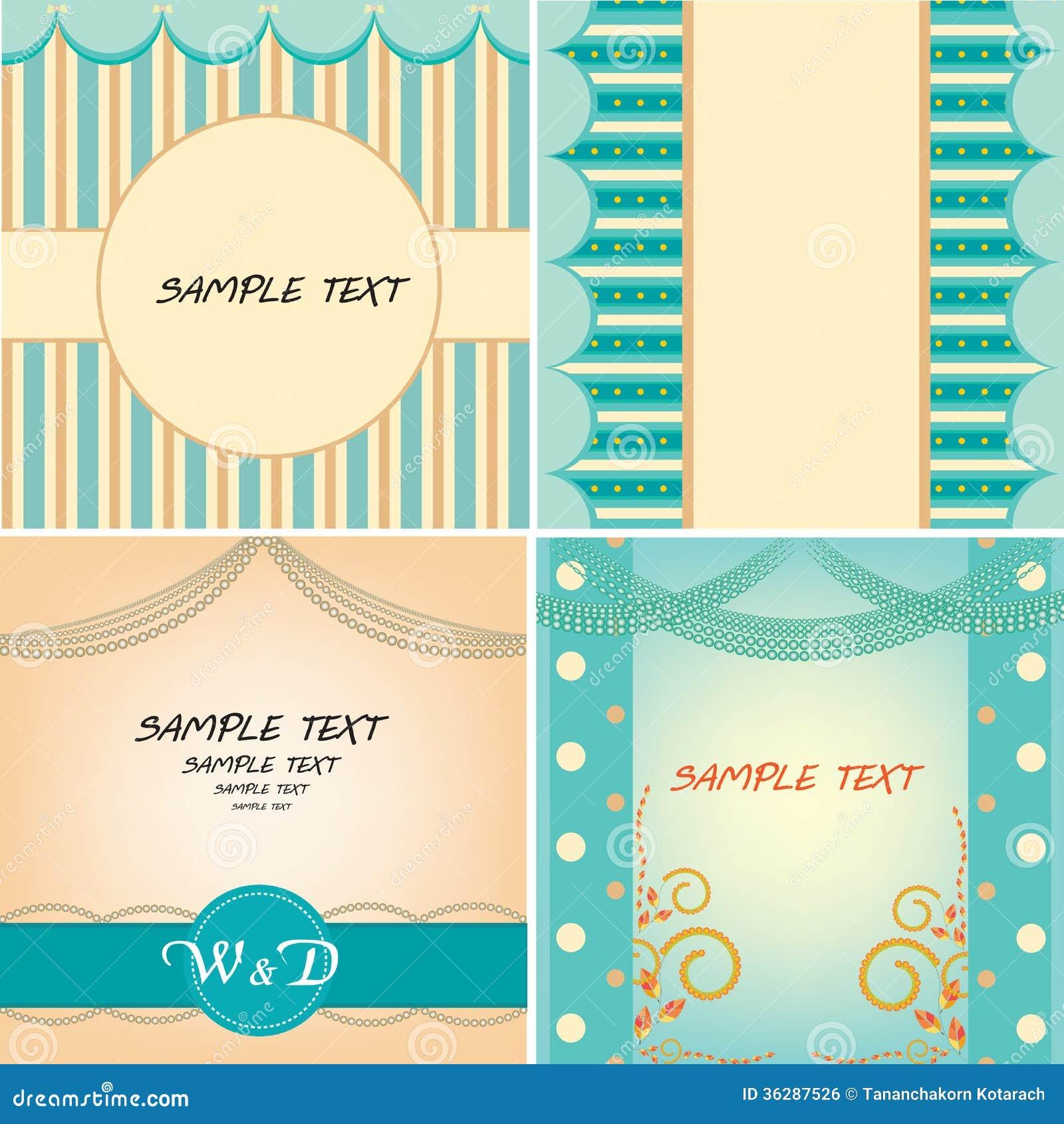 sweet sixteen program template - sweet blue template royalty free stock image image 36287526