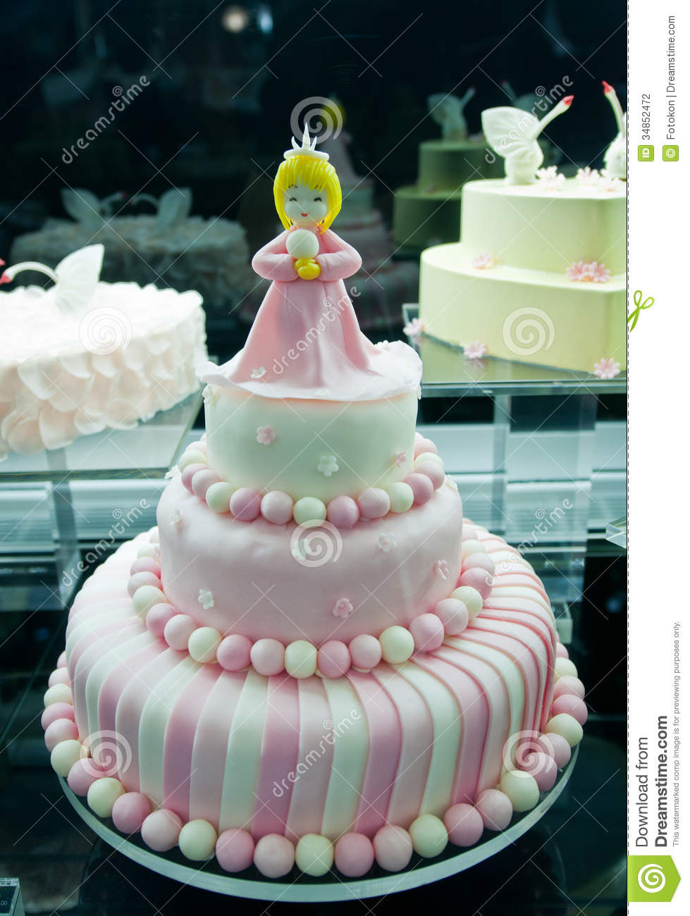 Birthday Cake Images Nice : Sweet cake stock photo. Image of republic, pekin, peking ...