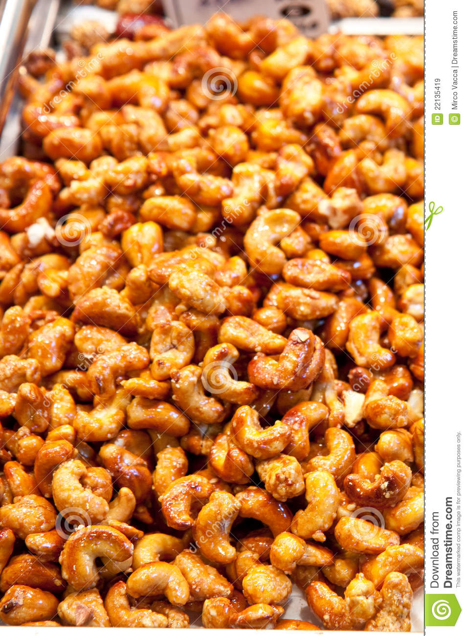 The market for cashew nuts in
