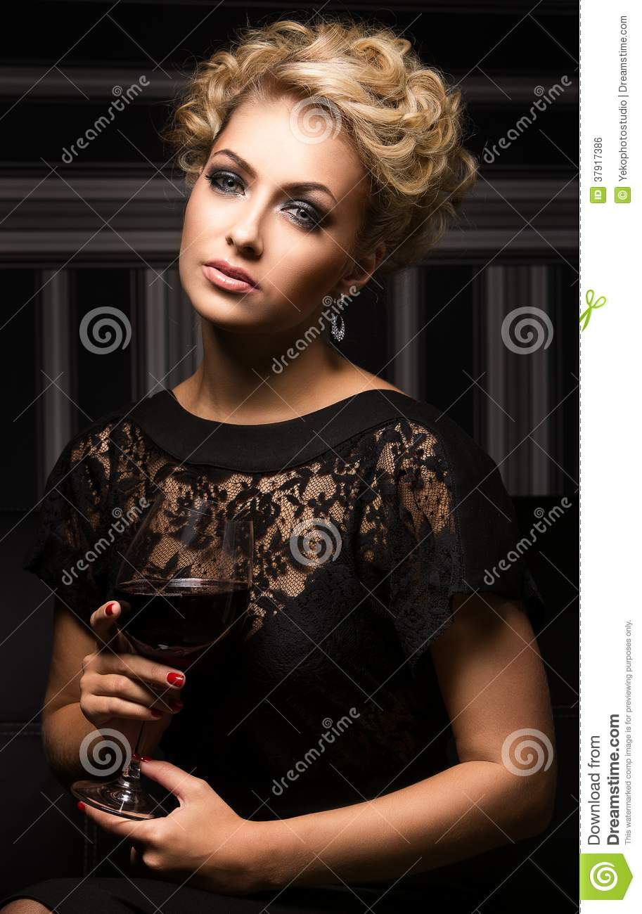 Sweet and charming lady with unknown secrets
