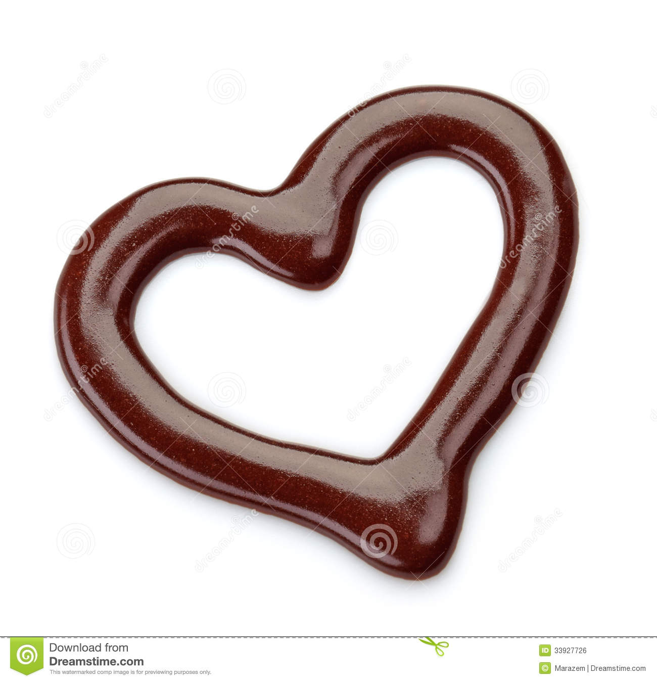 Sweet Chocolate Sauce Royalty Free Stock Image - Image: 33927726