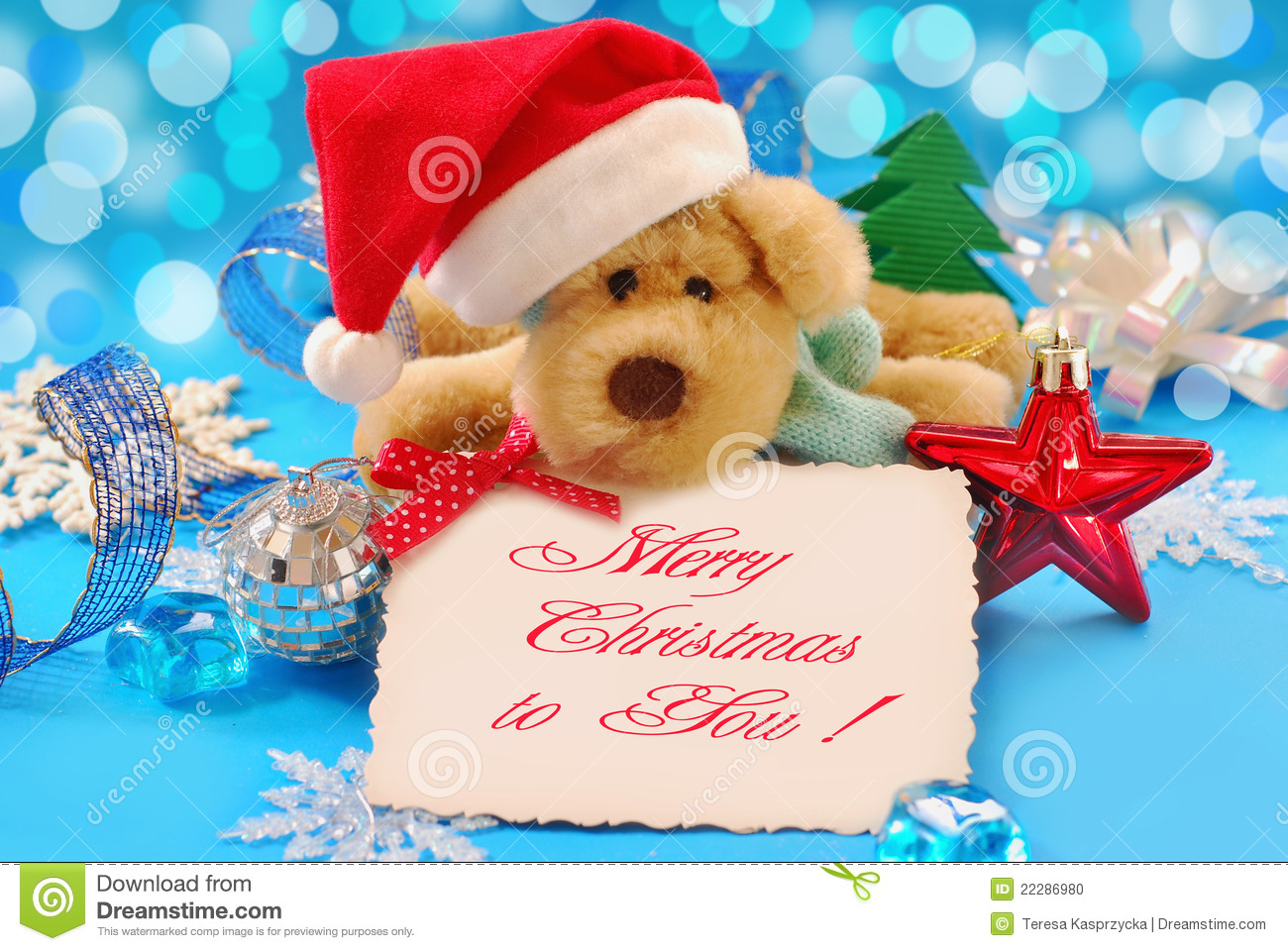 Sweet christmas greetings stock photo. Image of life - 22286980
