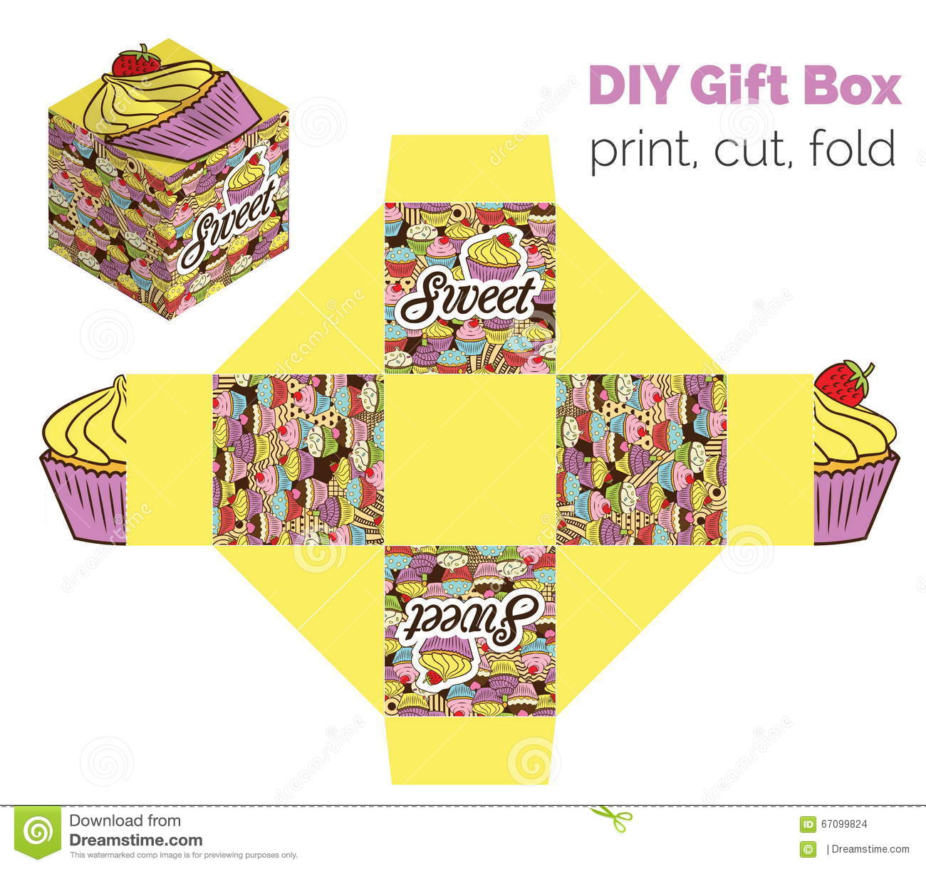 Sweet do it yourself diy cupcake packaging for deserts candies download sweet do it yourself diy cupcake packaging for deserts candies small gifts solutioingenieria Gallery