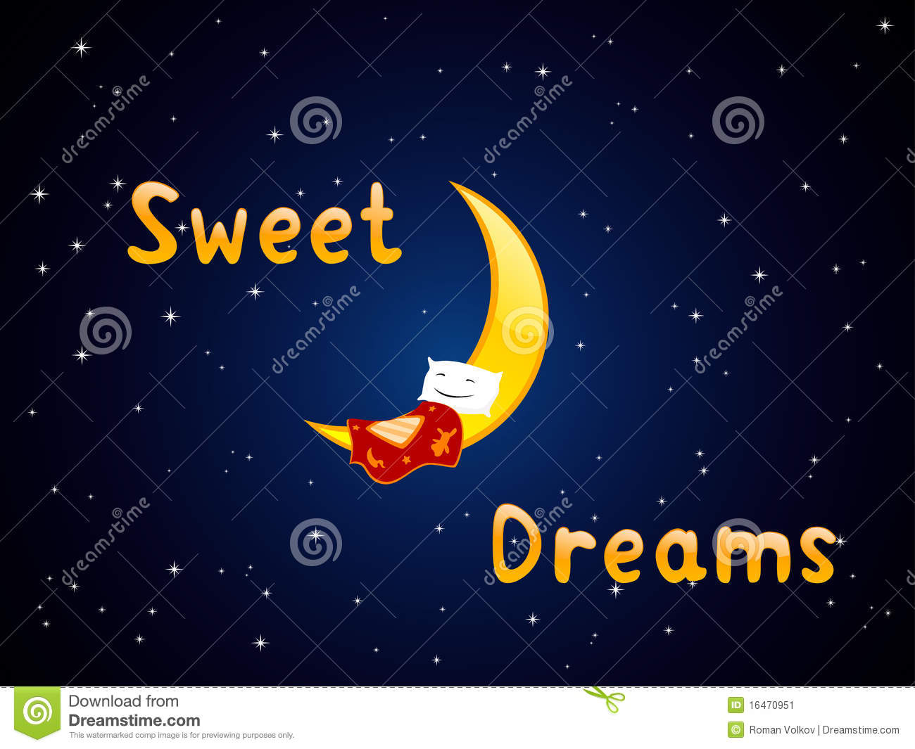 Sweet Dreams Stock Image Image 16470951
