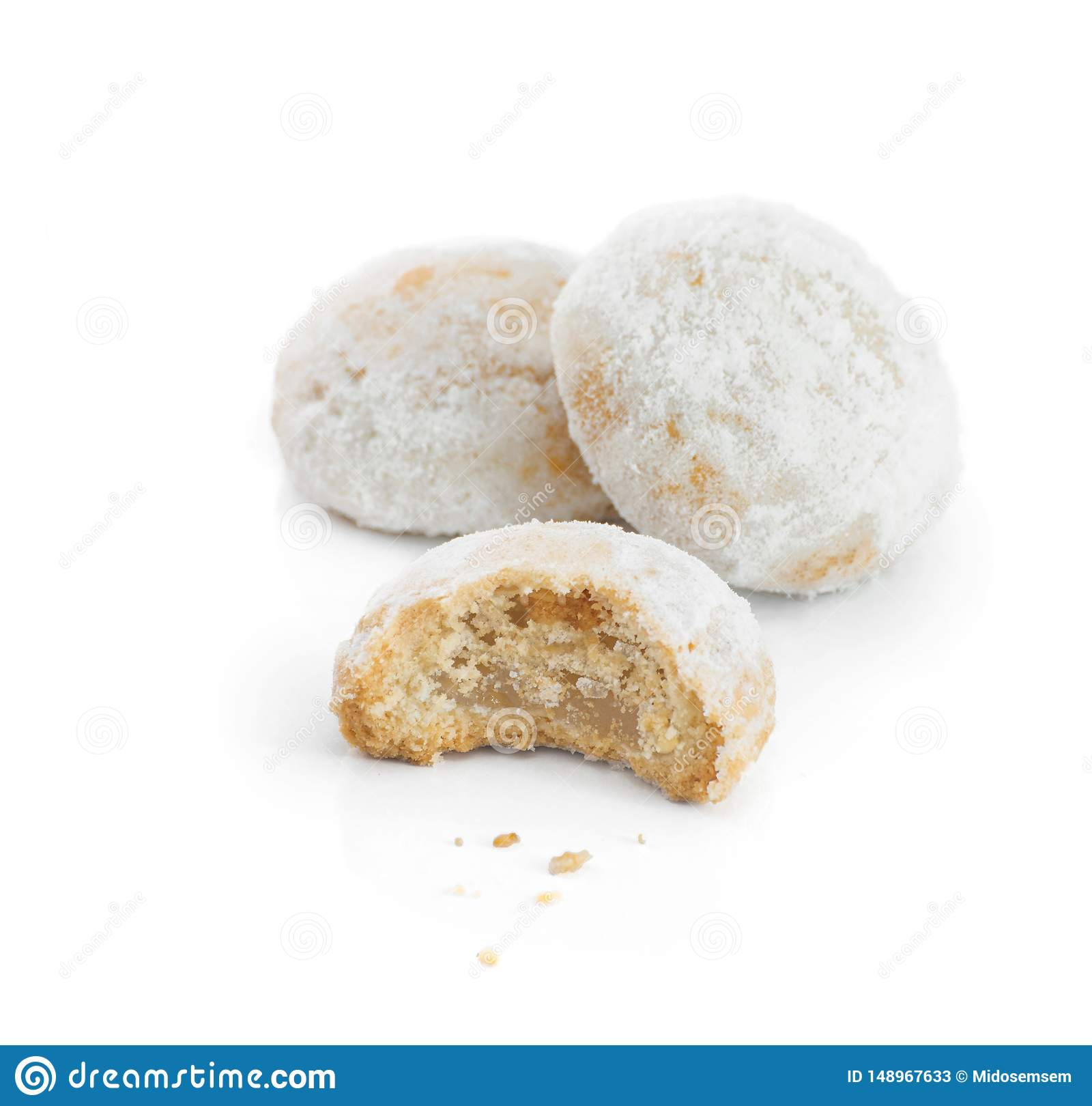 Sweet Eid El Fitr Cookies, Muslim Lesser Holiday Traditional Food