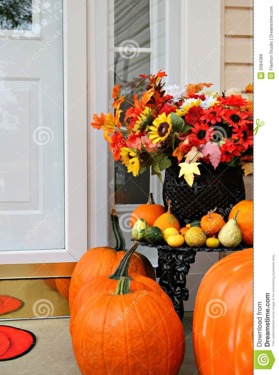 Sweet home autumn decoration