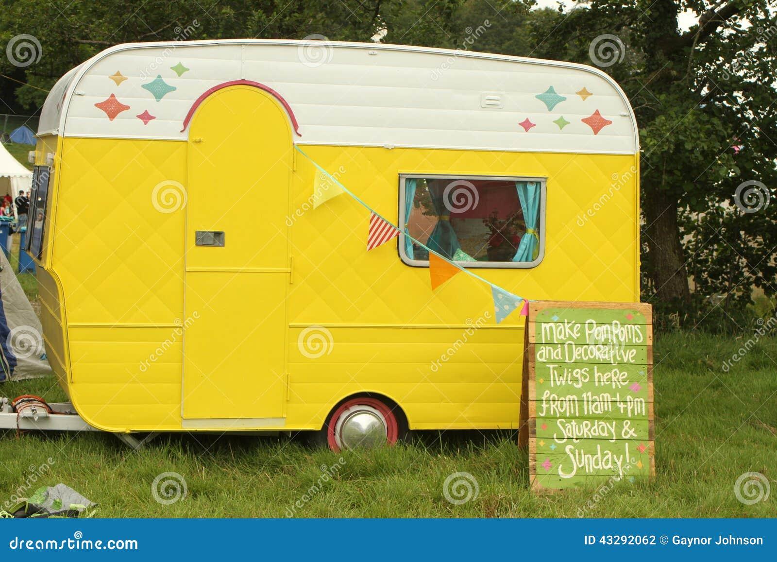 sweet little caravan editorial photography image 43292062. Black Bedroom Furniture Sets. Home Design Ideas