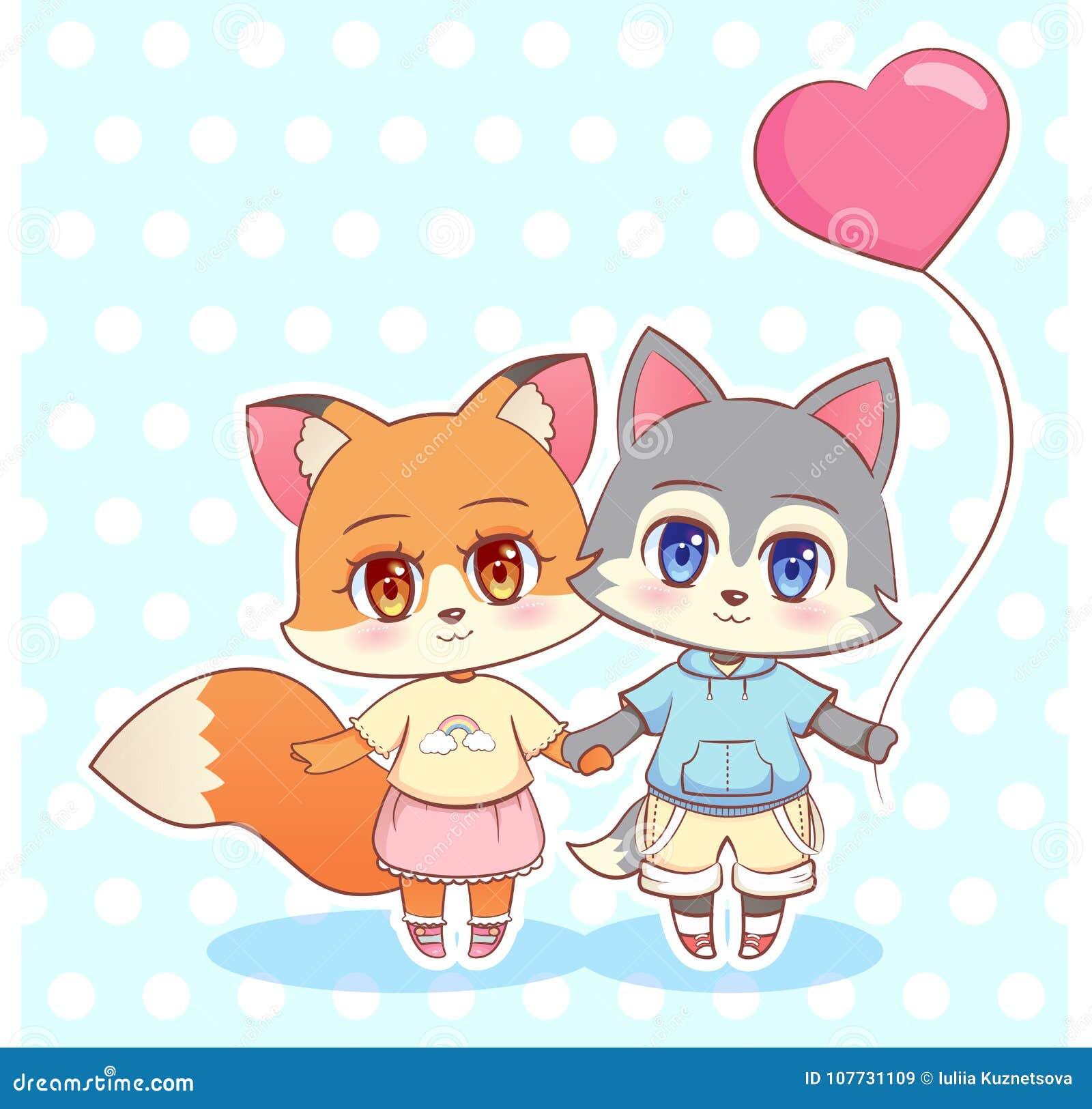 small naked fox girl anime