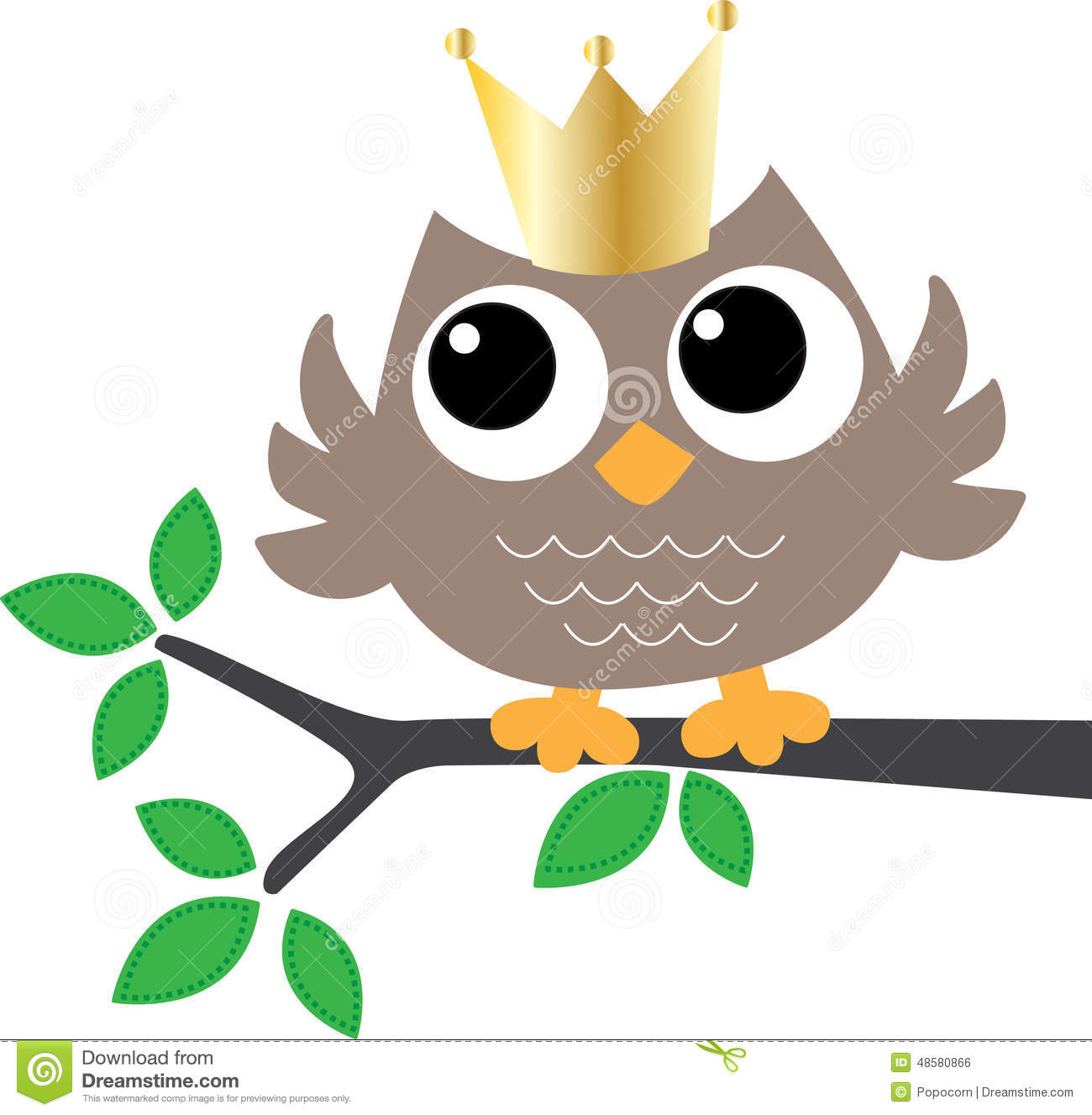 a sweet little owl with a golden crown stock vector back to school free clip art printable back to school night free clipart