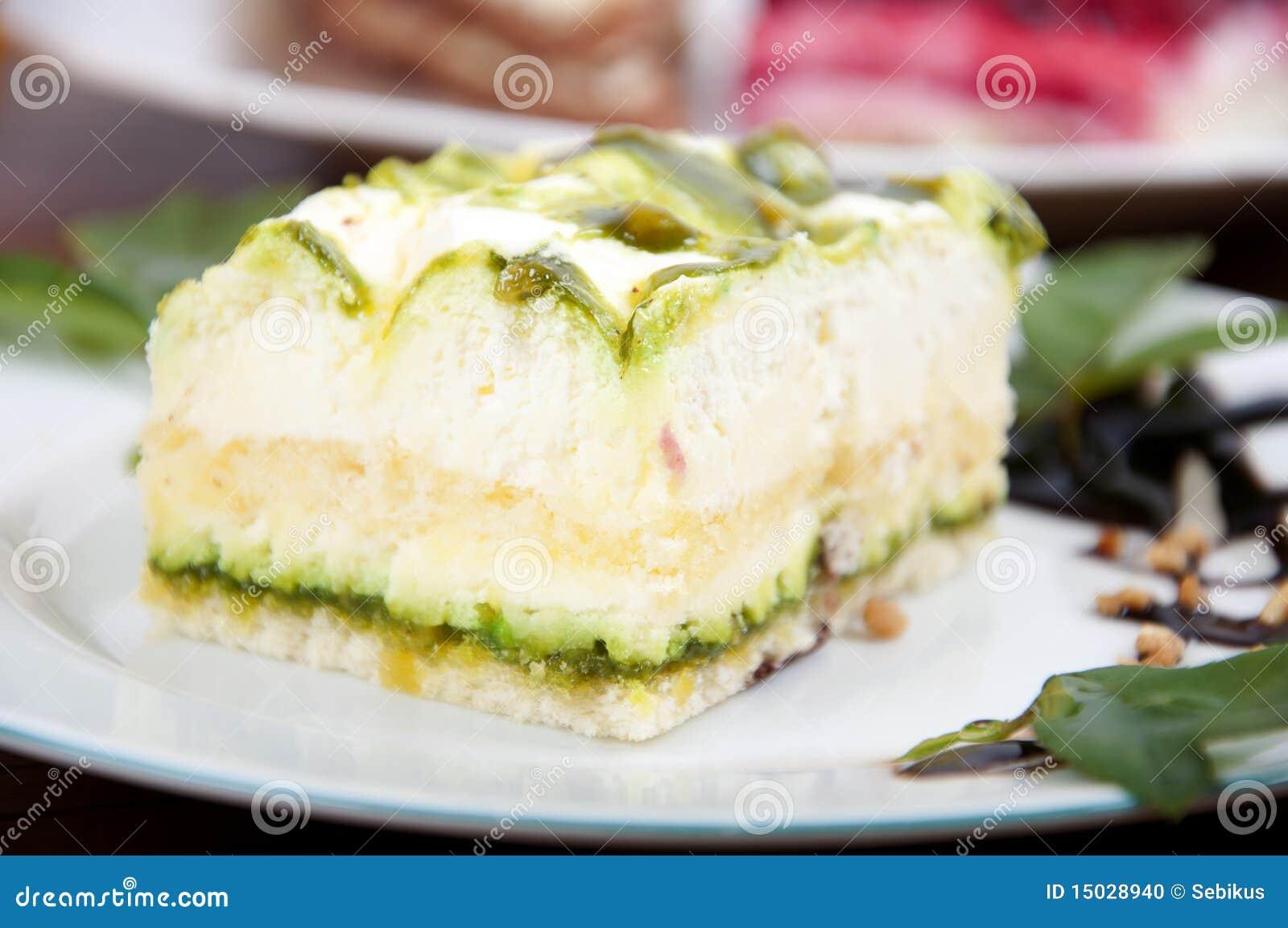 Pistachio Cream Dessert Recipe — Dishmaps