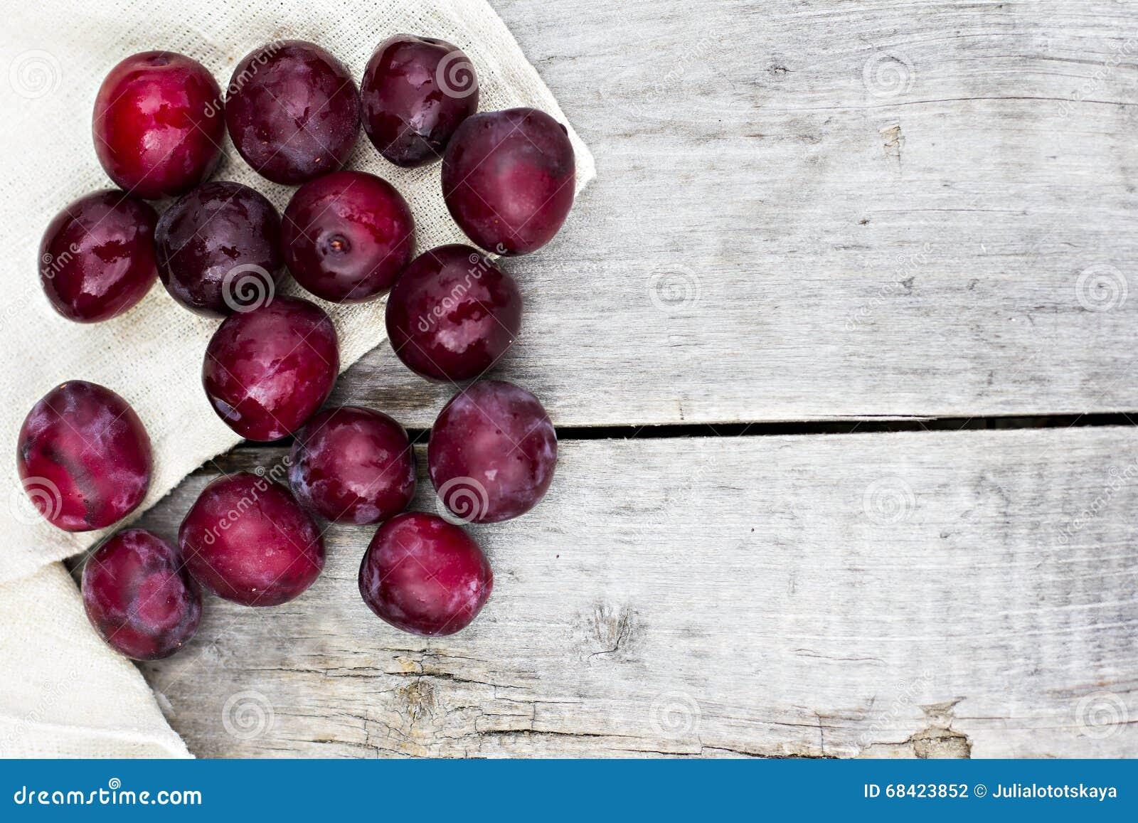 Sweet plums