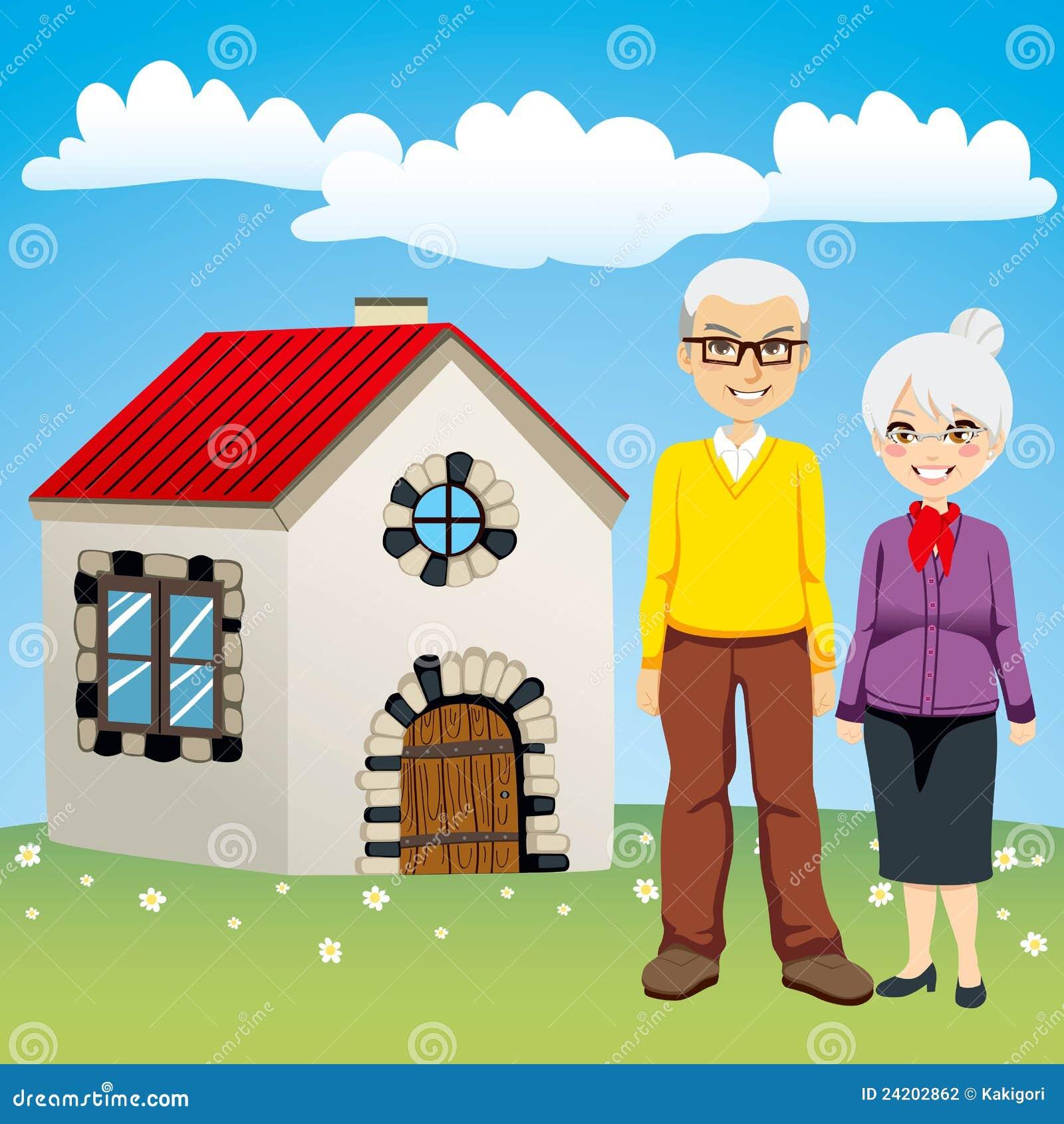 Sweet Retirement House Stock Photography Image 24202862
