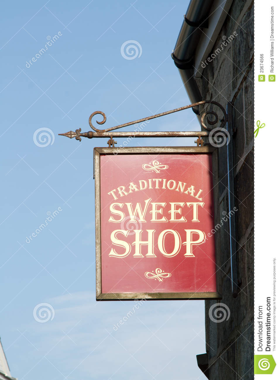 Sweet Shop Sign Royalty Free Stock Image Image 23674566