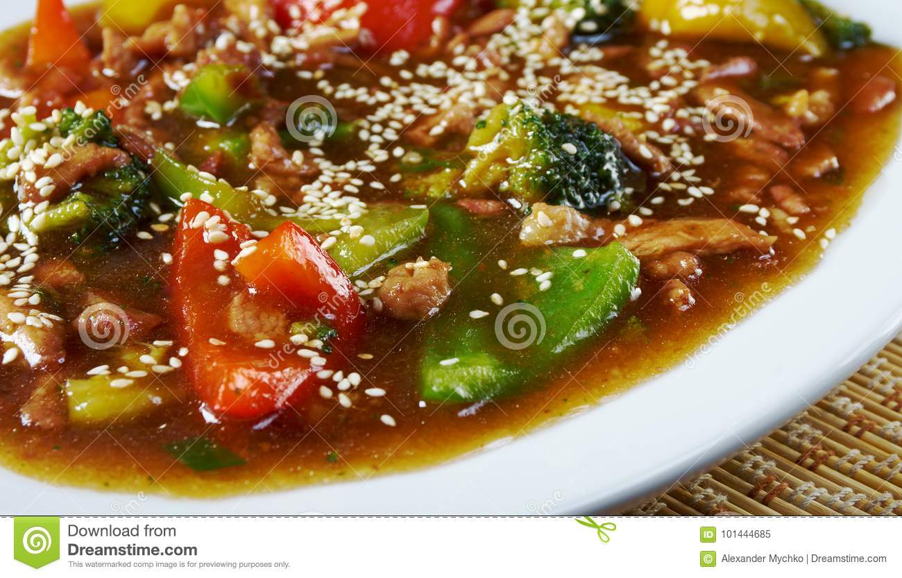 Sweet Sour Pork Stock Photos - Download 5,214 Royalty Free ... |Guangdong Sweet And Sour Pork