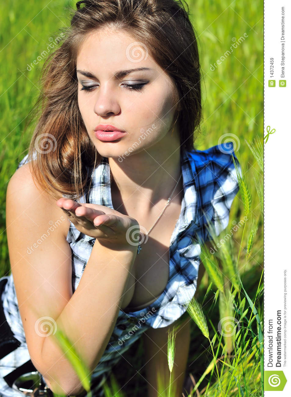 Sweet and tender air kiss stock image. Image of lifestyle - 14372459