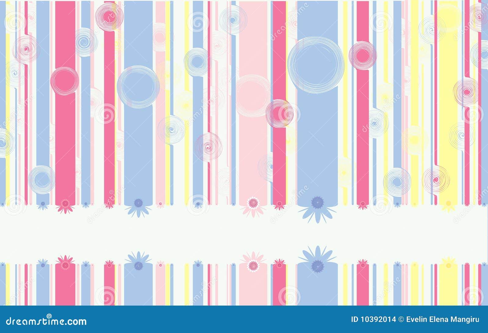 Sweet Vertical Lines Stock Illustration. Illustration Of