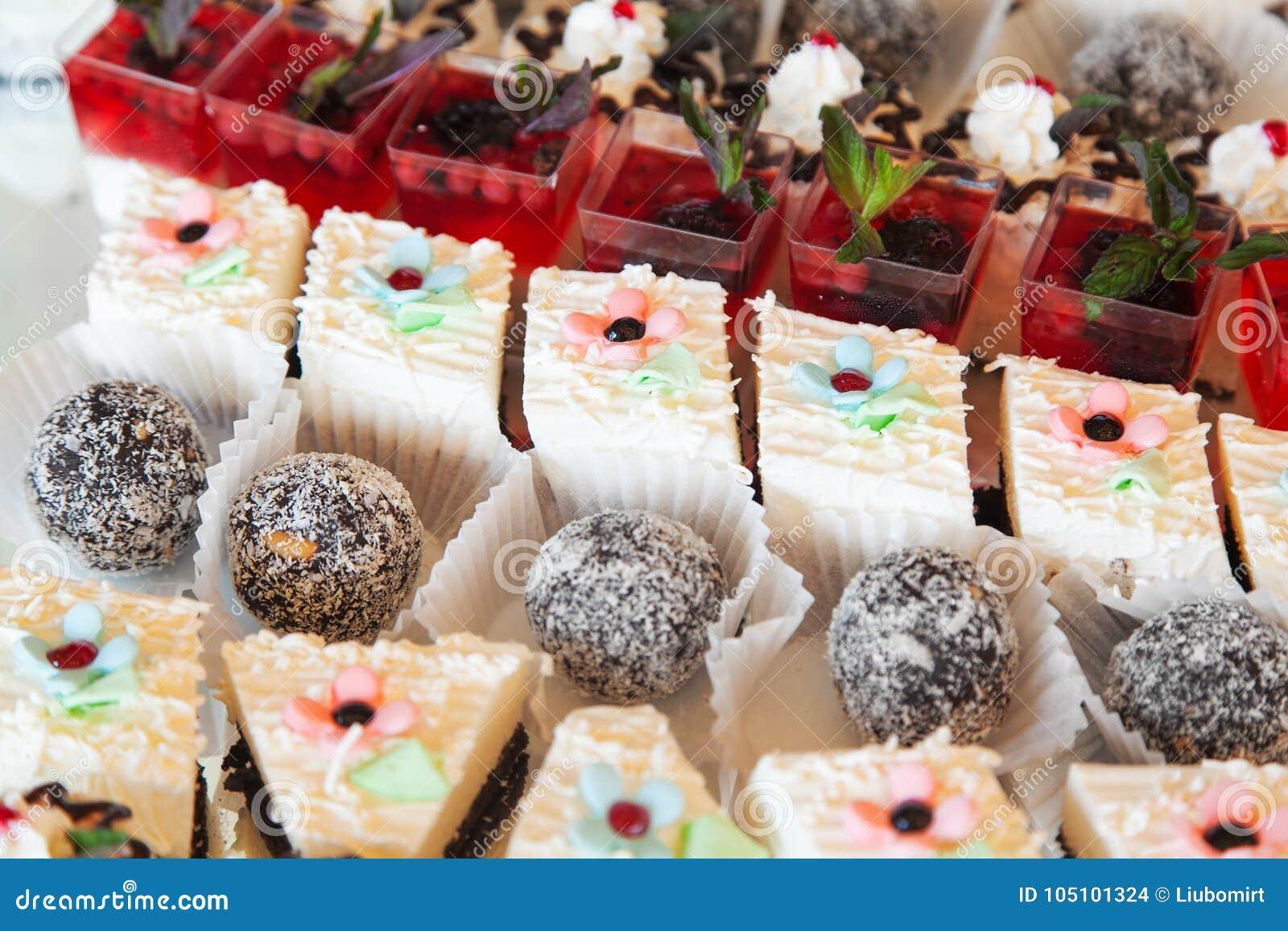 Sweetballs et gâteau