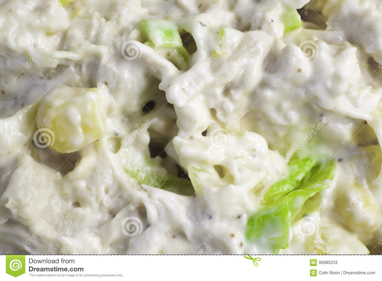 Sweetcorn and Chicken Mayo