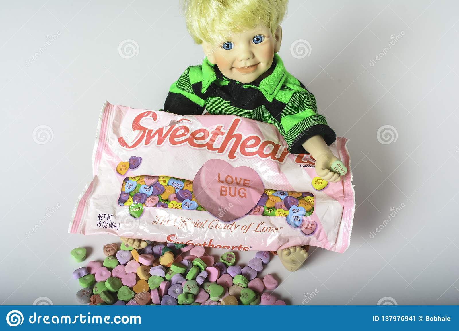 Sweethearts conversation candy hearts