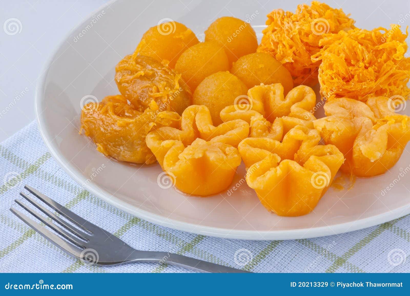 Sweetmeat dourado tailandês