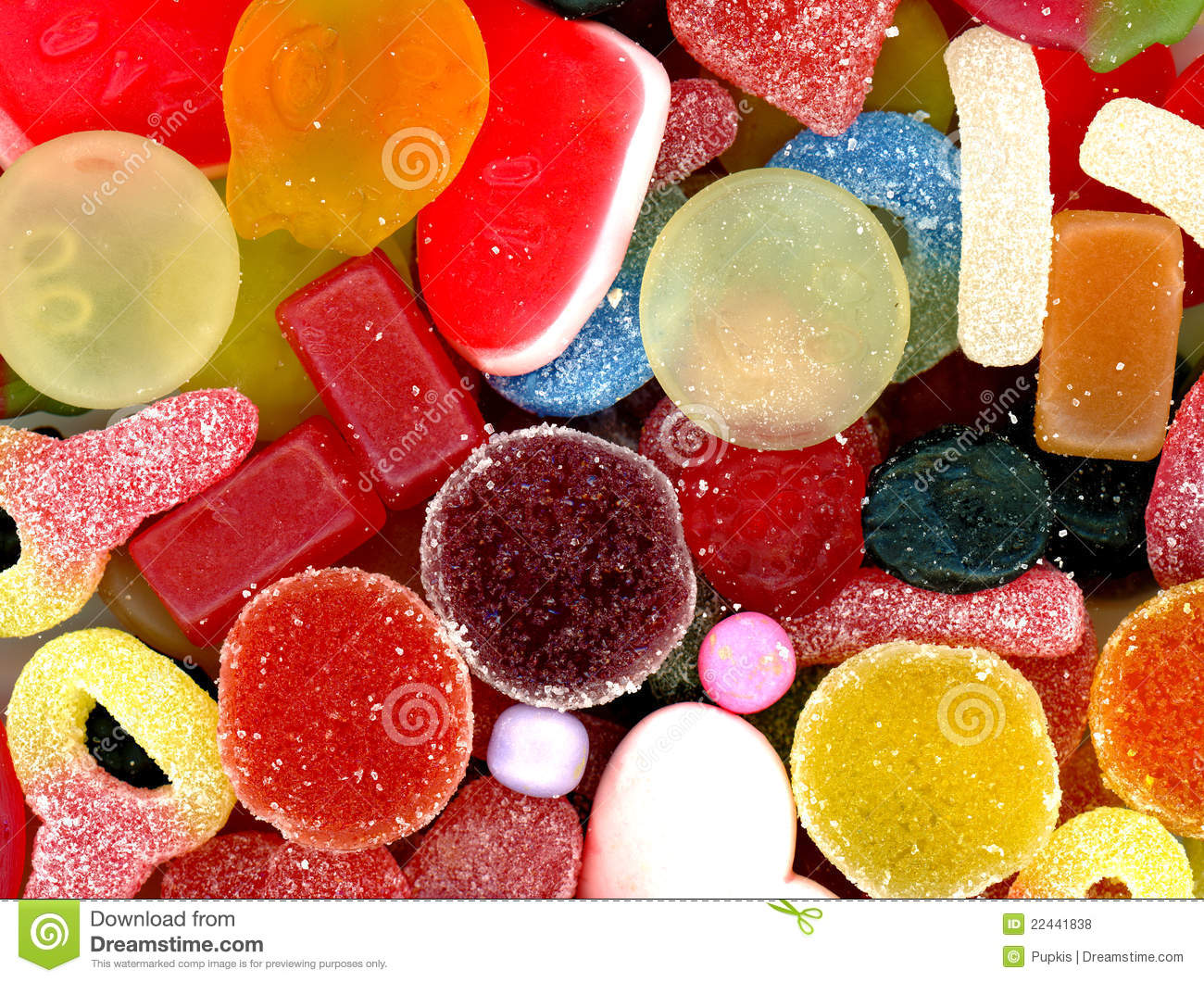 Sweets background