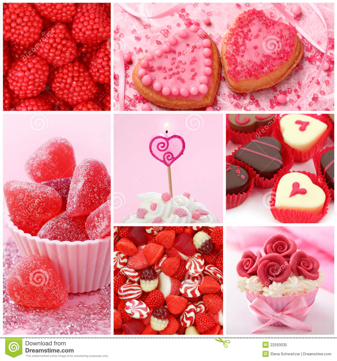Sweets for valentine 39 s day stock image image of pink - Dulces de san valentin ...