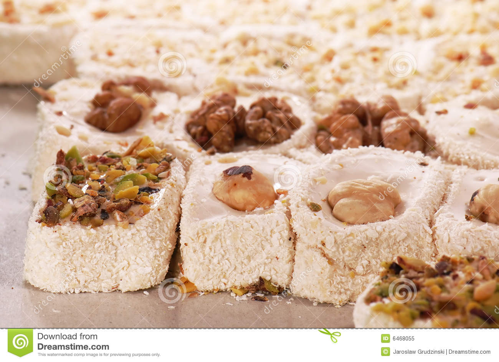 Sweets zachwytów tureckich
