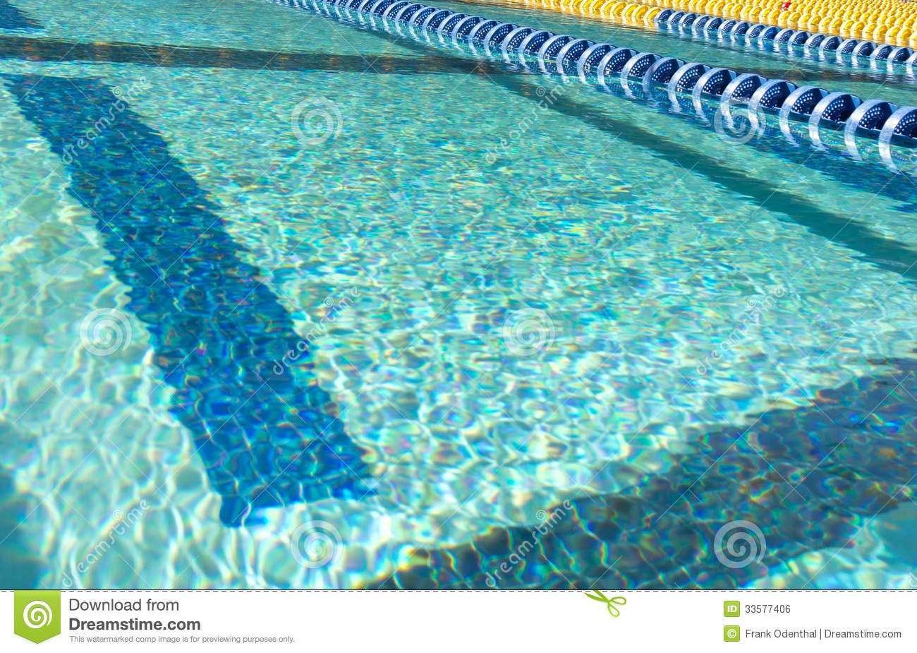 Swim Lane Marker Royalty Free Stock Image Image 33577406
