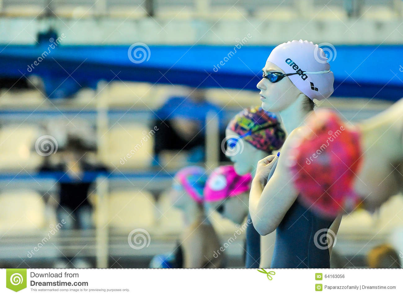 Swimmer Takes Part In The Competition Editorial Photo Image 64163056