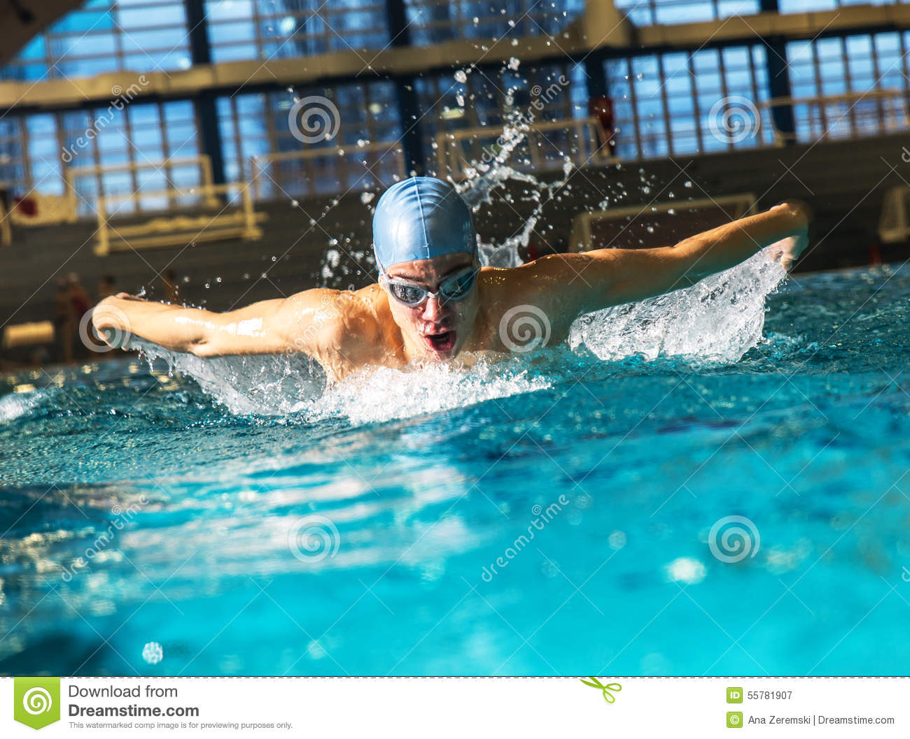 Swimmers stock image image of goggles activity healthy 55781907 for Swimming pool certification course