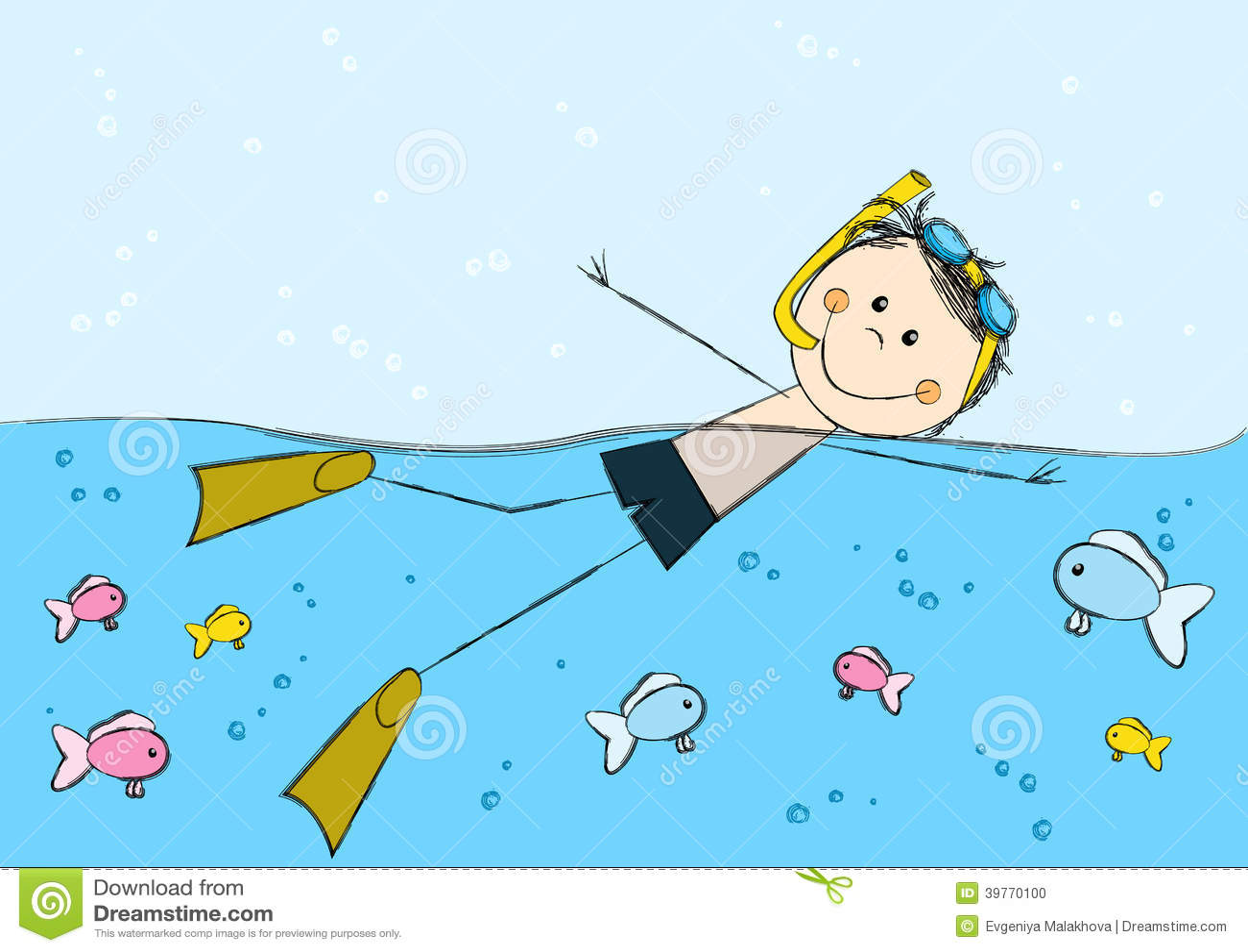 how to swim laps in the ocean