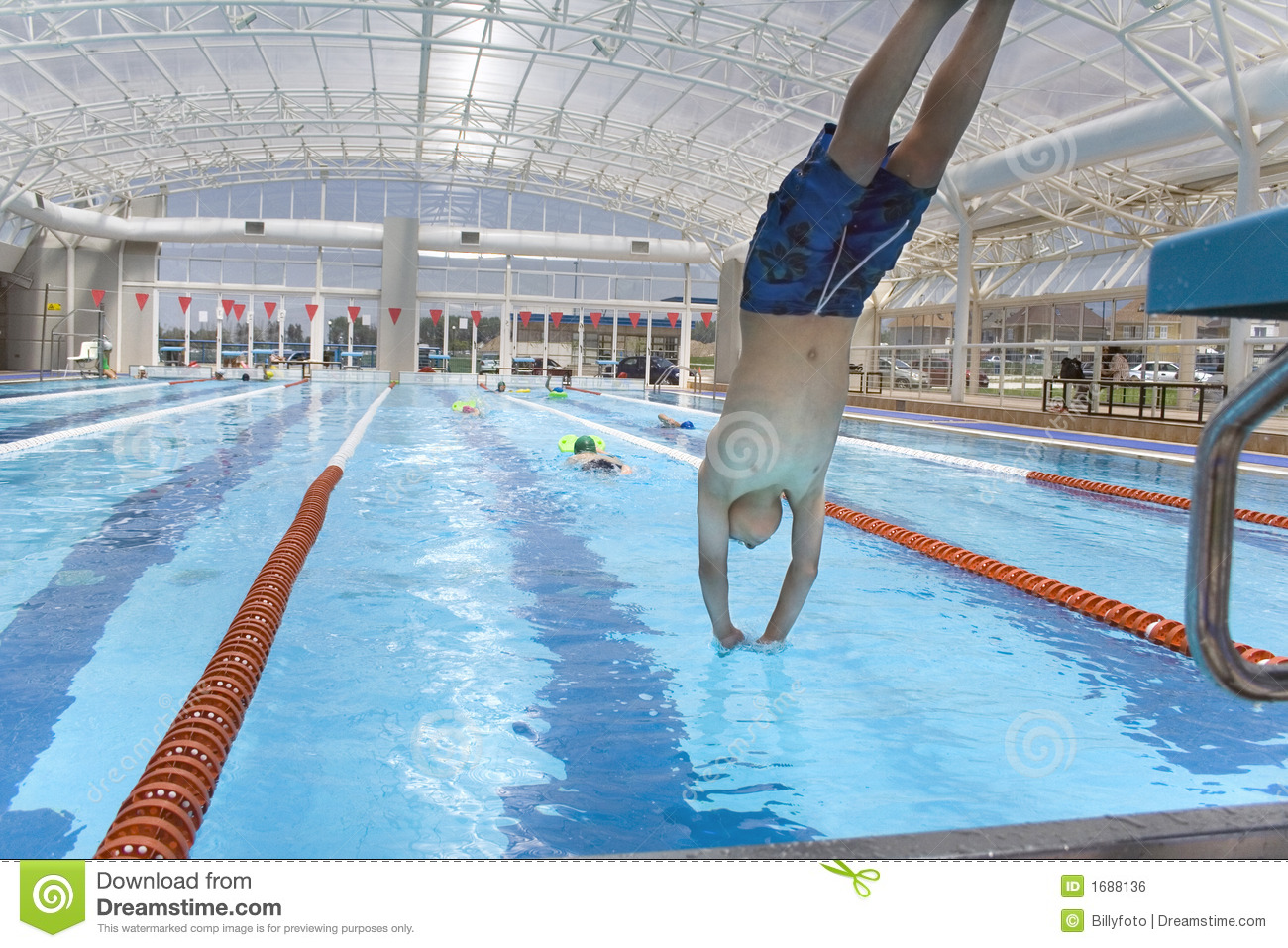 Swimming Class 1 Royalty Free Stock Image Image 1688136