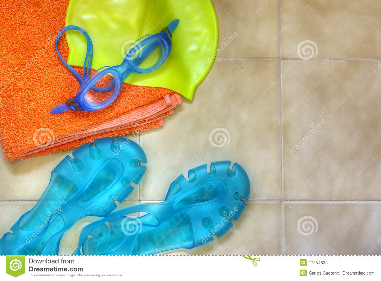 Swimming Gear Stock Image Image Of Activity Relax Close