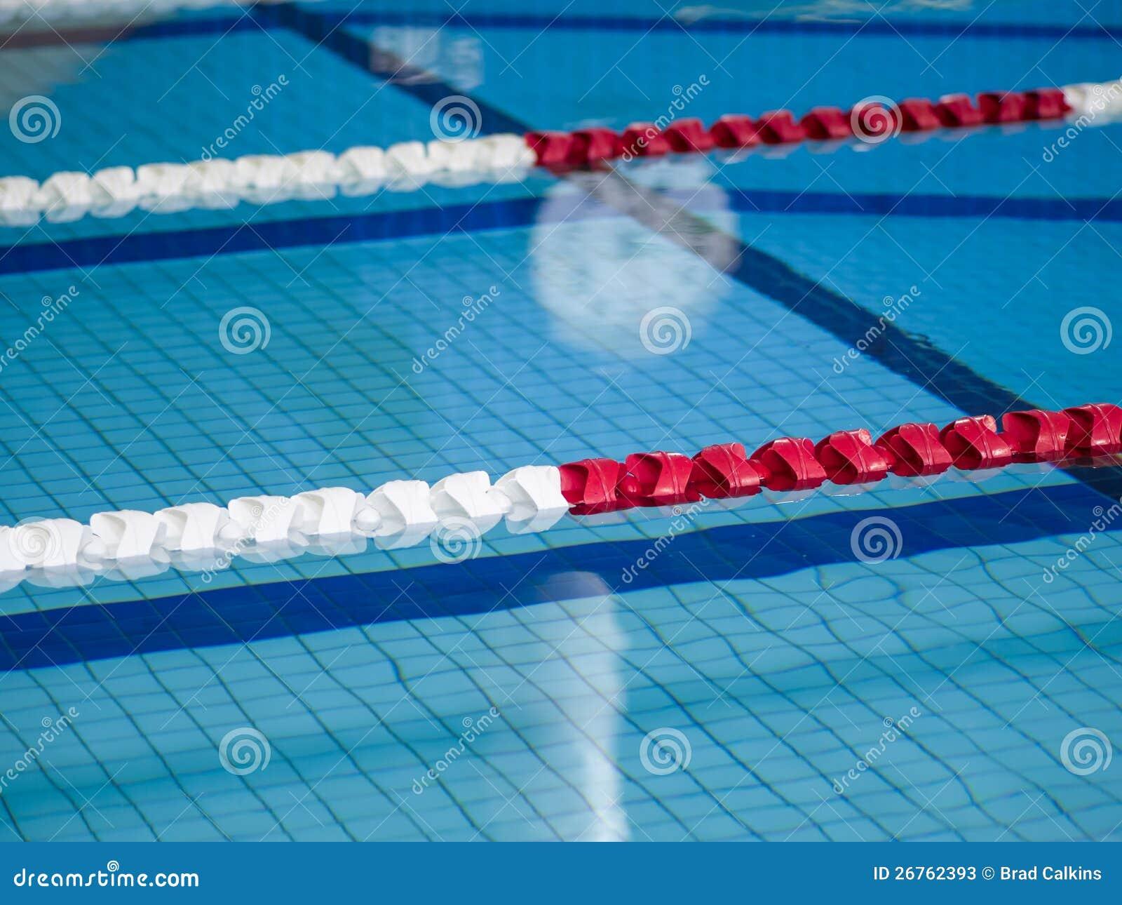 Swimming Lane Ropes Stock Photos Image 26762393