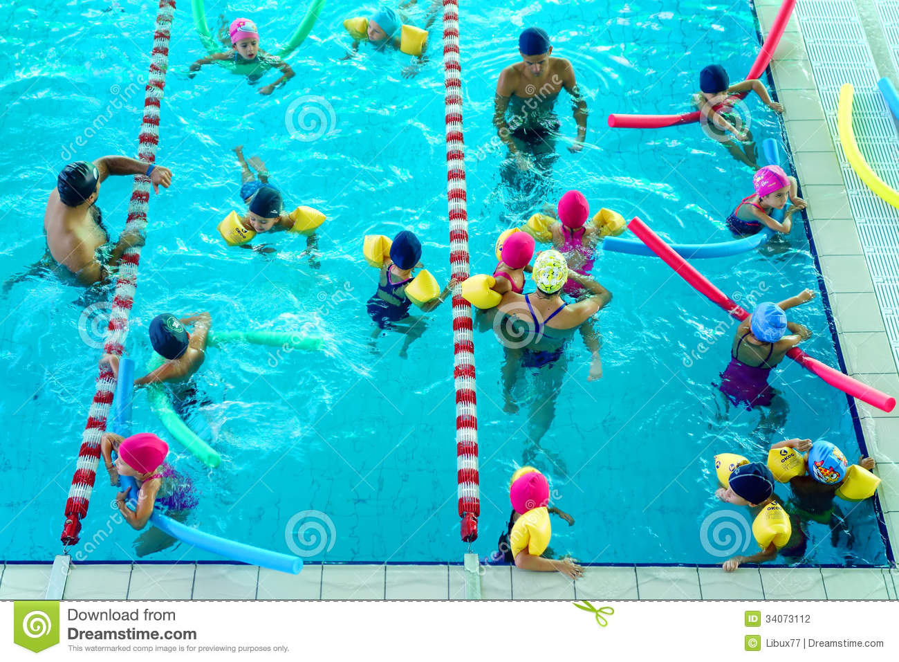 Swimming lesson editorial photography image 34073112 - Get a swimming pool full of liquor ...