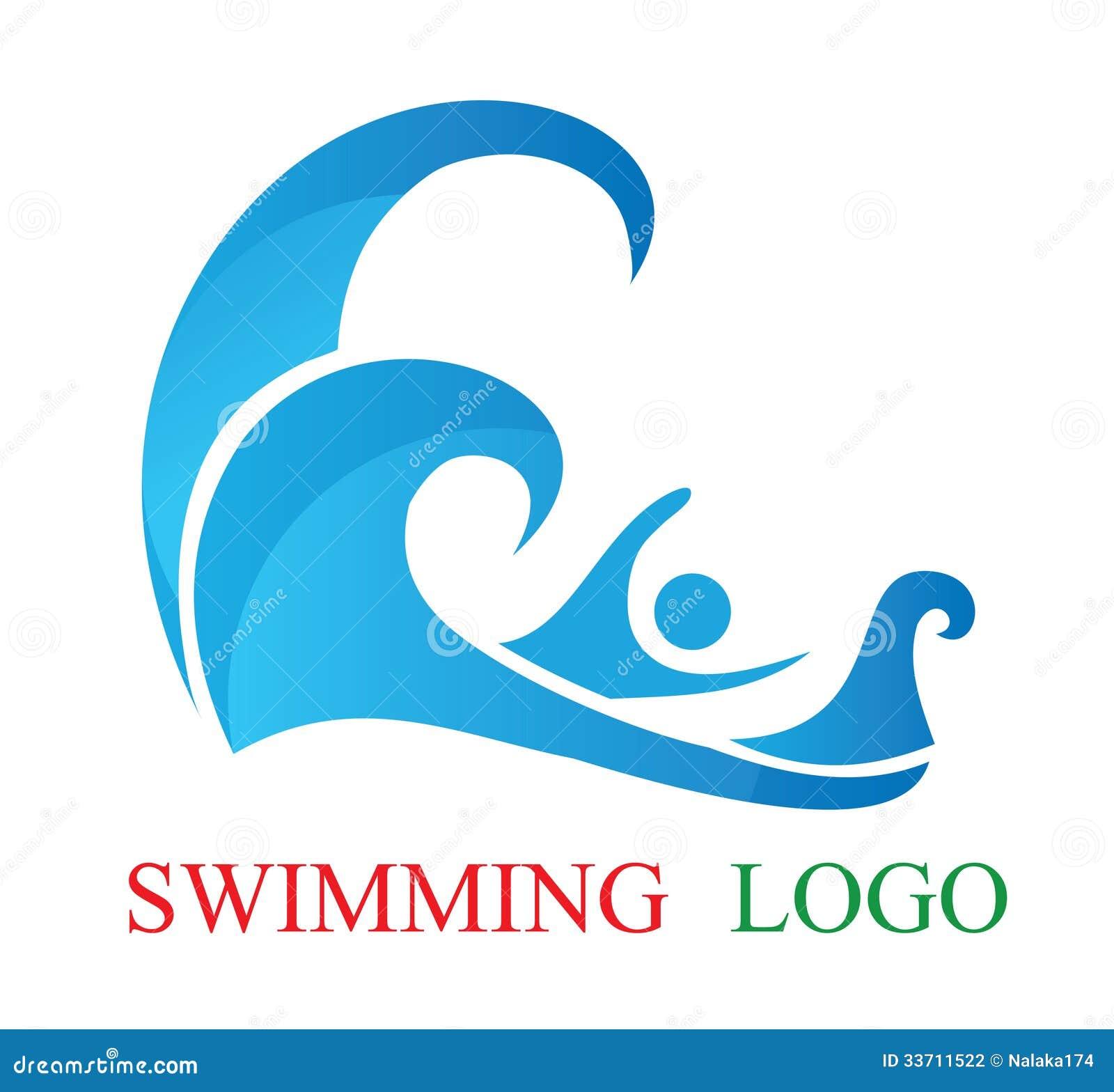 Swmming Pool Logo : Swimming logo stock vector image of logotype fitness