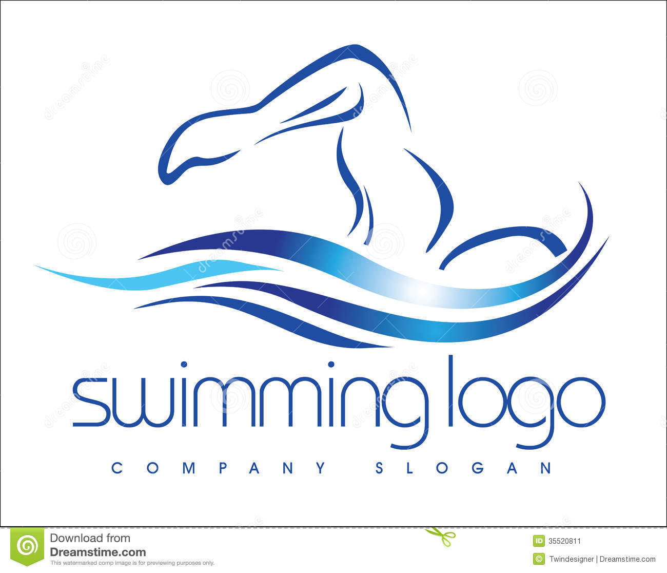 swimming logo stock vector illustration of sophisticated swimming pool logo clip art swimming pool logo art