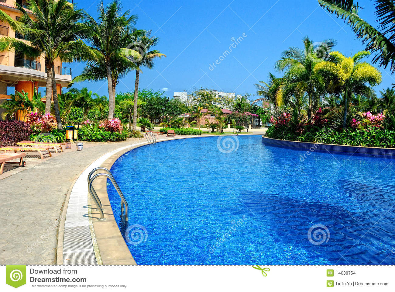 Swimming Pool Stock Images Image 14088754