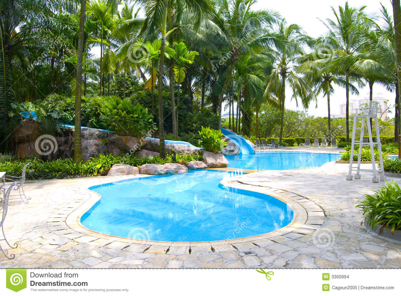 Swimming Pool Stock Images Image 3300994