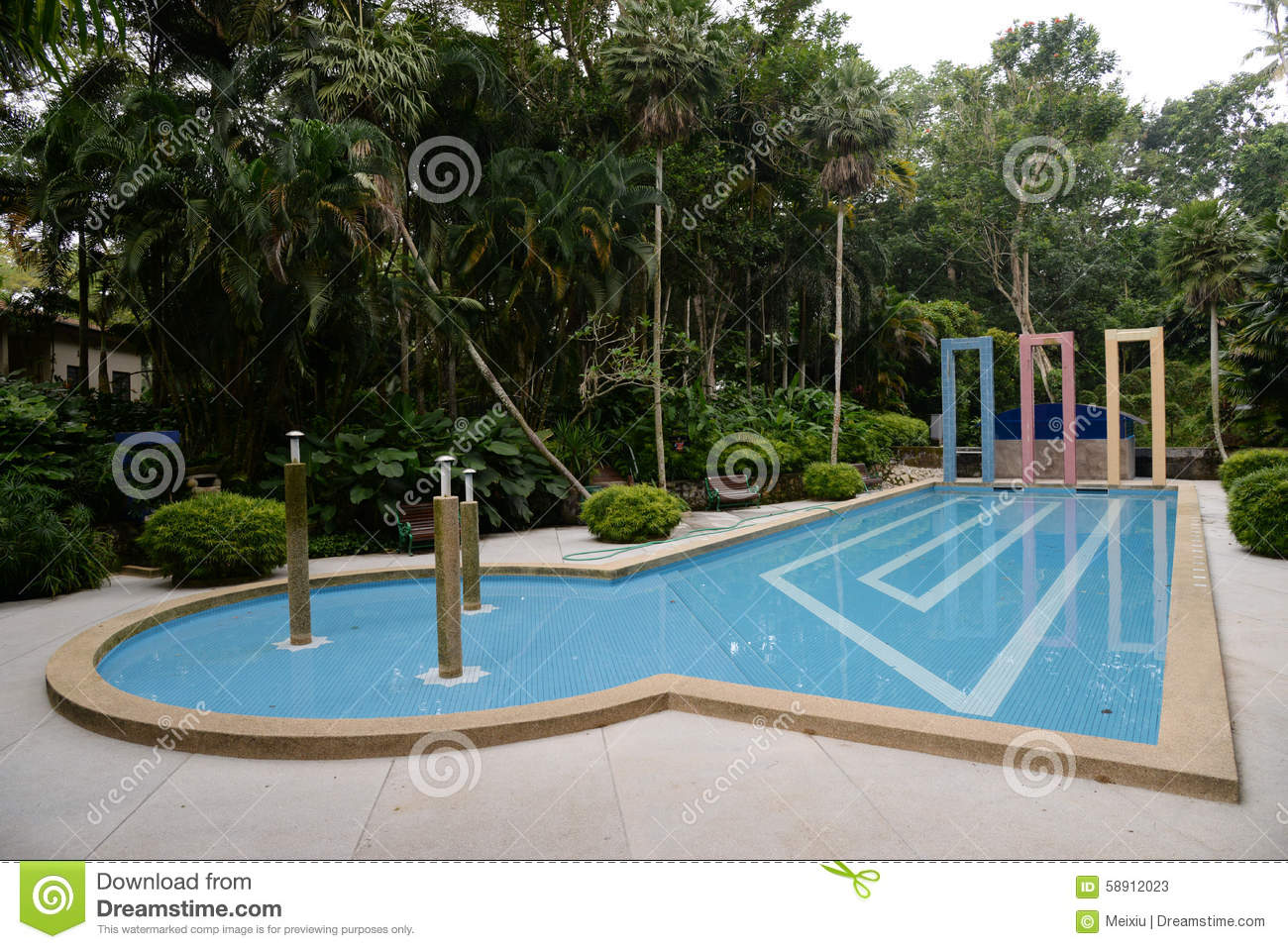 Swimming Pool Stock Photo Image 58912023