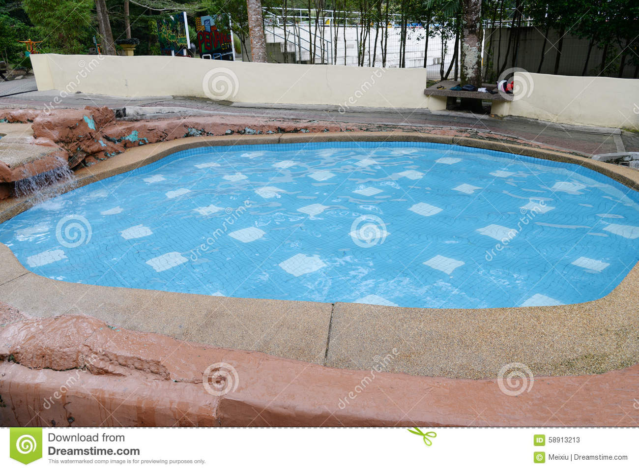 Swimming Pool Stock Photo Image 58913213