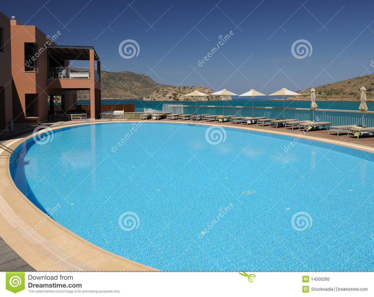Swimming pool area royalty free stock photo image 14500285 for Swimming pool area