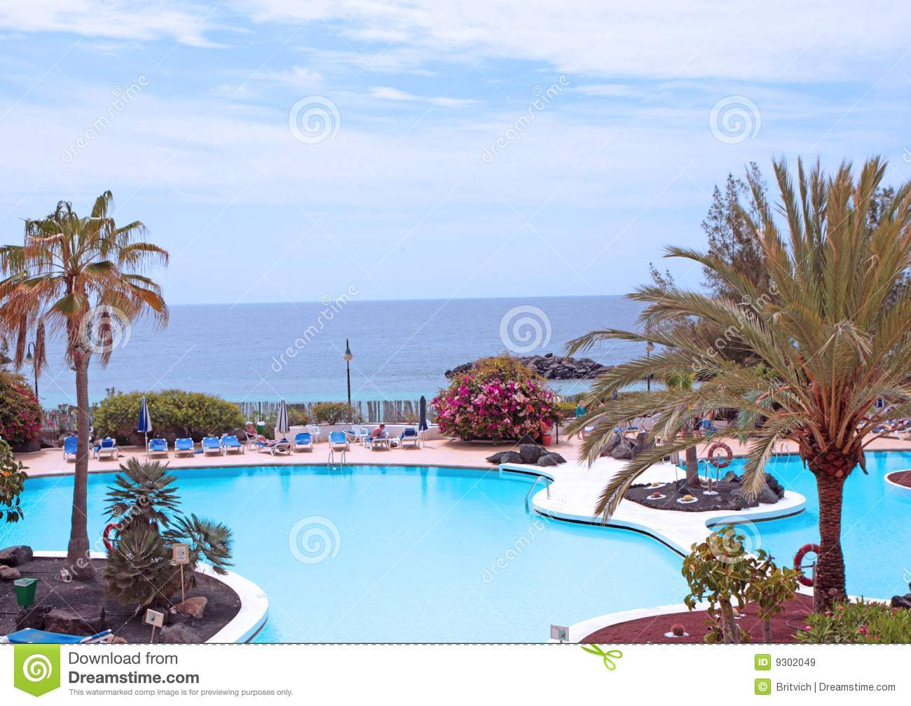 Swimming pool area royalty free stock images image 9302049 for Swimming pool area