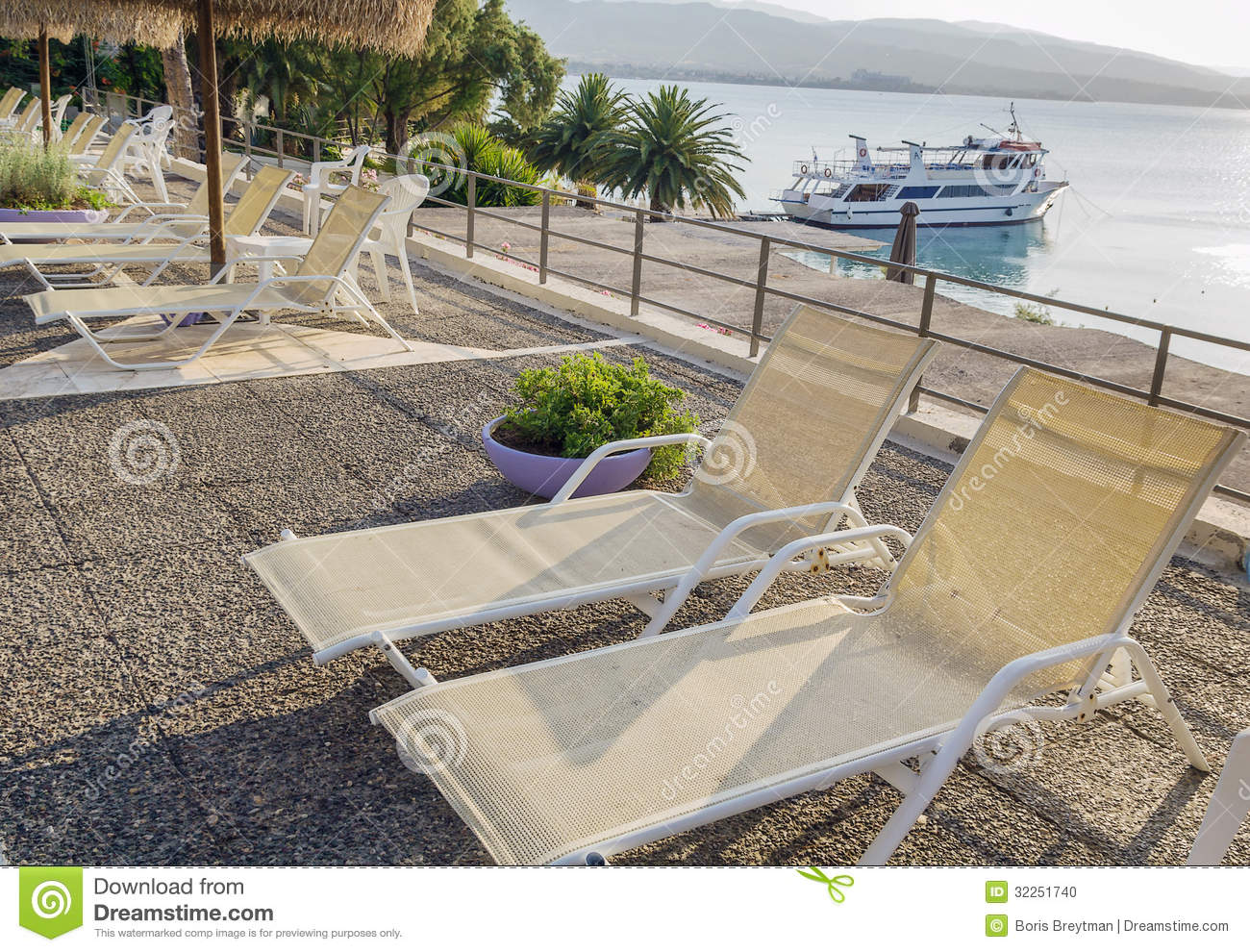 Swimming pool area of hotel with beach stock photo image for Swimming pool area