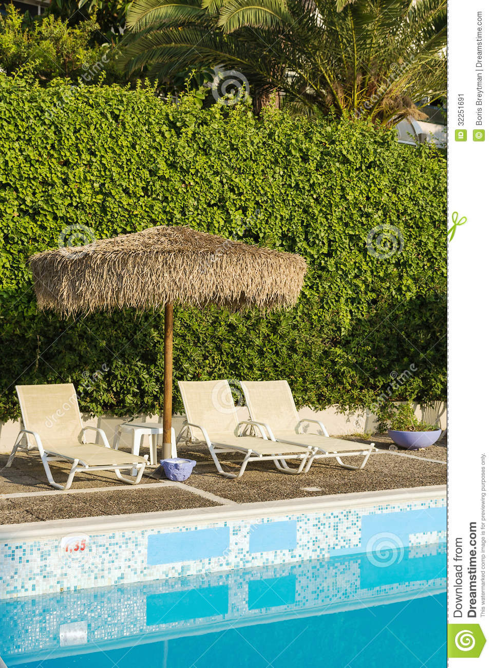 Swimming pool area of hotel stock image image 32251691 for Swimming pool area