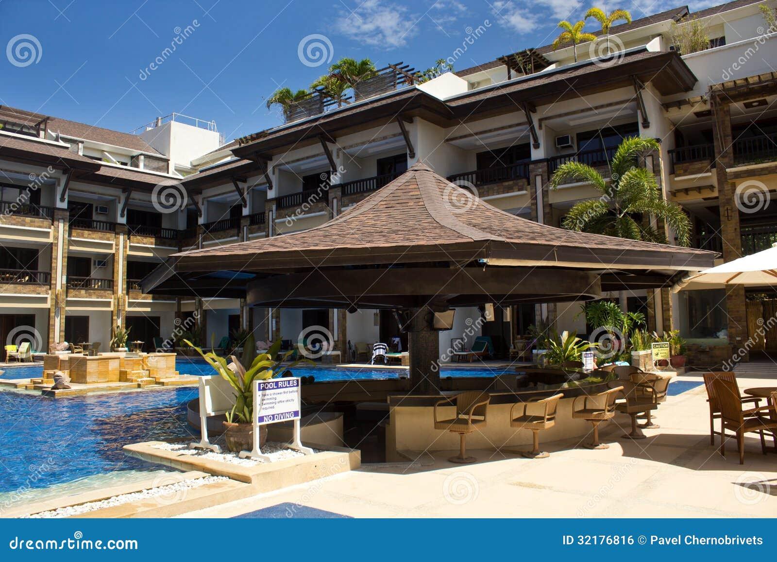 Swimming Pool And Bar Royalty Free Stock Image Image