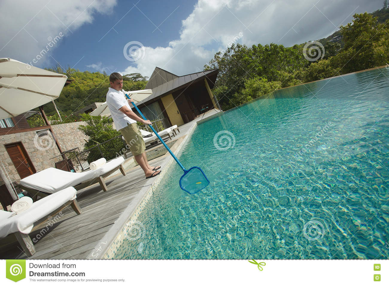 Swimming pool cleaner stock photos 643 images for Mangalore swimming pool timings