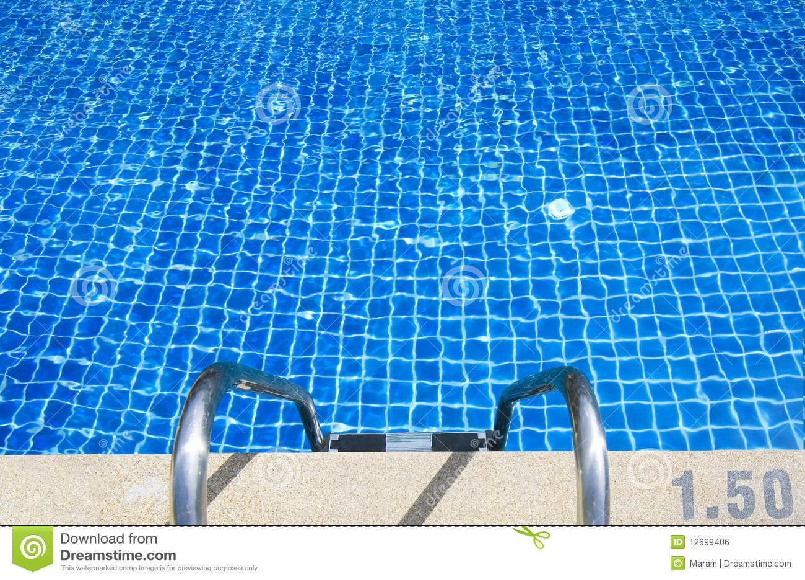 Swimming Pool Close Up Royalty Free Stock Image Image 12699406