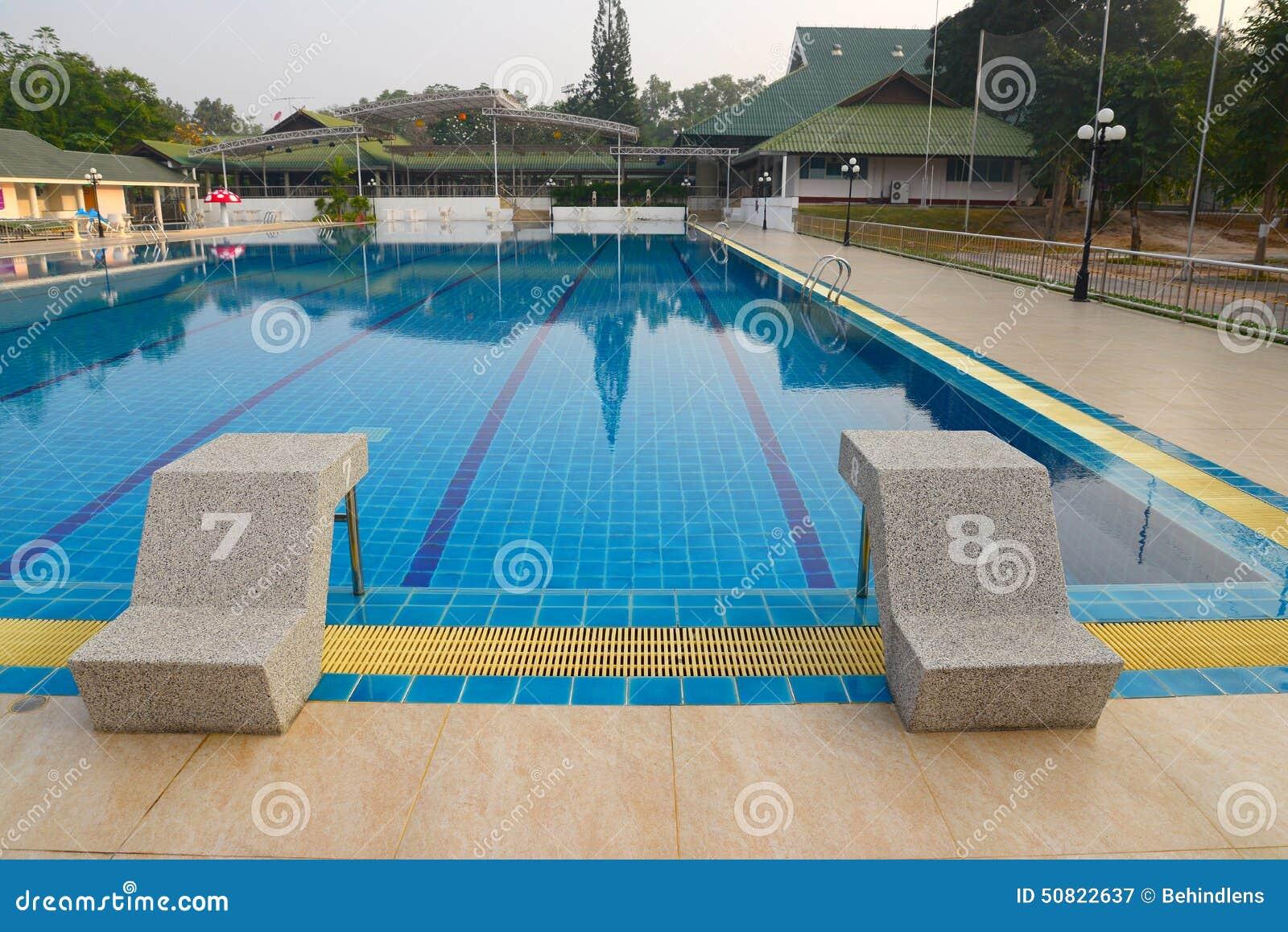 Swimming Pool Stock Photo Image 50822637